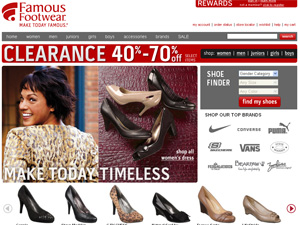 Famous Footwear Coupon Discounts Famous Footwear Promotion Codes Free Shipping Deals Famous Footwear Top Shoe Coupons