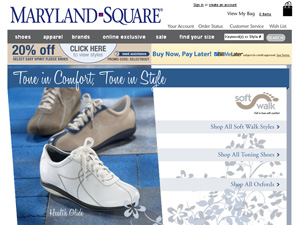 buy popular a8321 94611 Maryland Square Coupon Discounts   Maryland Square Promotion Codes   Free  Shipping Deals   Maryland Square Top Shoe Coupons