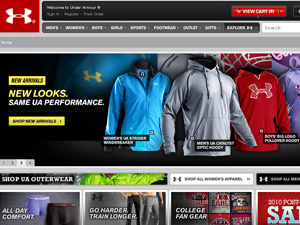 About Under Armour Under Armour is an American retailer of sporting apparel and accessories - the brainchild of 23 year old University of Maryland athlete Kevin Plank.