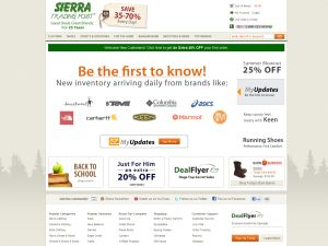 Sierra trading post in store coupons